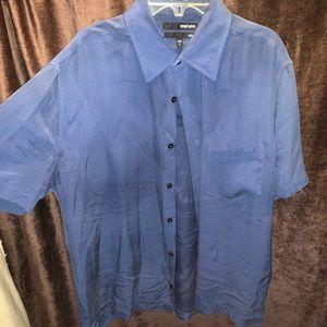 100% silk shirt